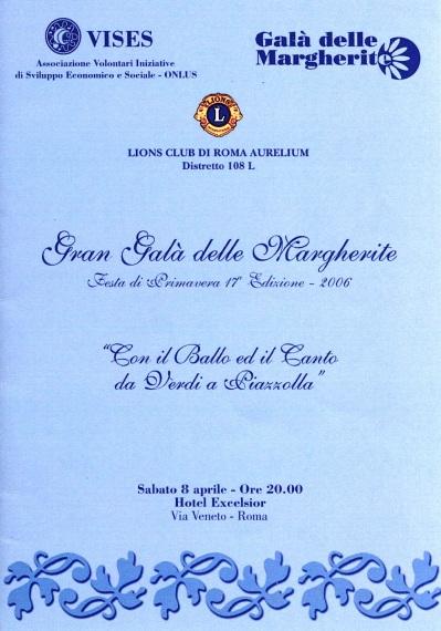 Gala delle Margherite 2006