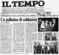 Articolo da Il Tempo, Gala delle Margherite 2001
