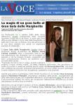 Articolo da La Voce, Gala delle Margherite 2009