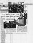 Articolo da Il Messaggero, Gala delle Margherite 2005
