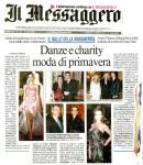 Articolo da Il Messaggero Gala delle Margherite 2011